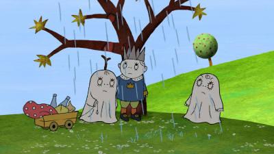 Mest känd har de blivit för böckerna om det snälla men ganska räddlivade spöket  Laban c0e73530f2460